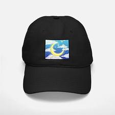 Moon Blue Baseball Hat