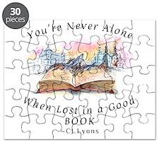 Cute Reading books Puzzle