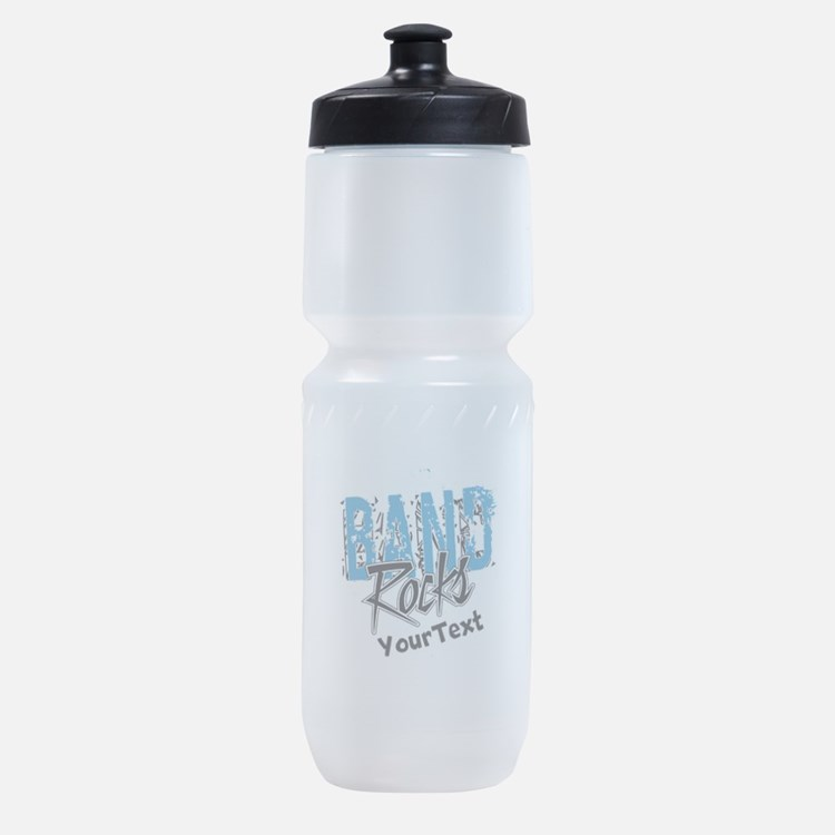 BAND Rocks Optional Text Sports Bottle
