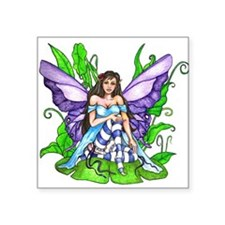 Lily Pad Fairy Sticker