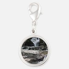 Manorkill Falls 3 Silver Round Charm