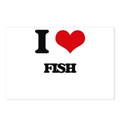 I love fish postcards package of 8 by admin cp10501932 for I love the fishes