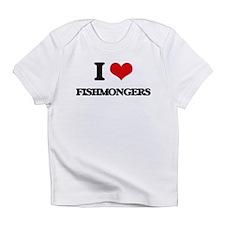 I Love Fishmongers Infant T-Shirt