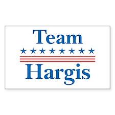 Team Hargis Rectangle Decal