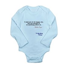 Tbbt Sheldon Wants You To Be Happy Too Body Suit