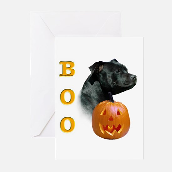 Staffy Boo Greeting Cards (Pk of 10)