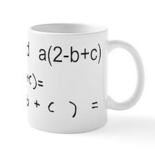 Expand This Math Problem Mug