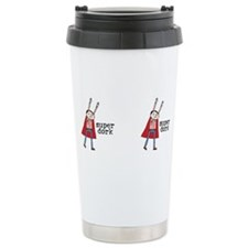 Cute Hero logo Travel Mug