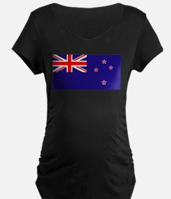 NZ Flag Maternity T-Shirt