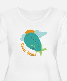 Clear Skies Plus Size T-Shirt