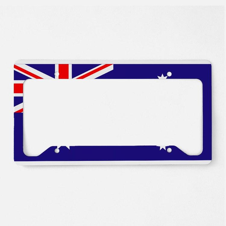 Australia Flag License Plate Holder