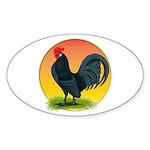 Sunrise Dutch Bantam Oval Sticker