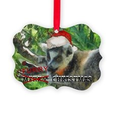 Furry Christmas Ornament