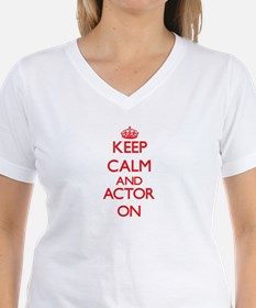 Keep Calm and Actor ON T-Shirt