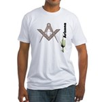 Arizona Freemasons Fitted T-Shirt