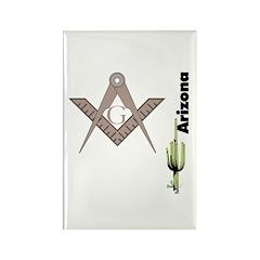 Arizona Freemasons Rectangle Magnet (100 pack)