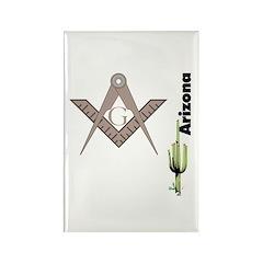 Arizona Freemasons Rectangle Magnet