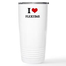I Love Flextime Travel Mug
