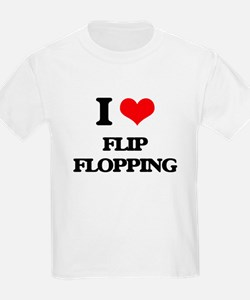 I Love Flip Flopping T-Shirt