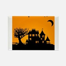 Halloween Manor Magnets