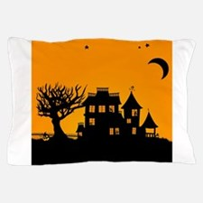 Halloween Manor Pillow Case