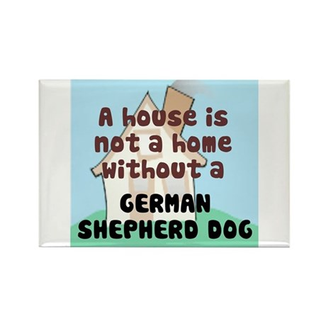 GSD Home Rectangle Magnet