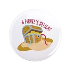 "Pirates Delight 3.5"" Button (100 pack)"