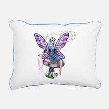 Mushroom Fairy Rectangular Canvas Pillow