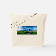 Ogham Stone, Dunmore He - Alaska Stock Tote Bag 17