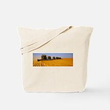 Six Gleaner combines ha - Alaska Stock Tote Bag 17