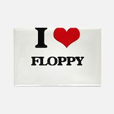I Love Floppy Magnets