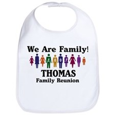 THOMAS reunion (we are family Bib