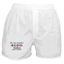 THOMAS reunion (we are family Boxer Shorts