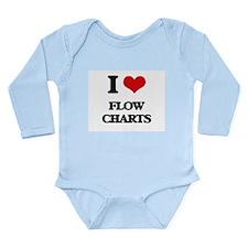 I Love Flow Charts Body Suit