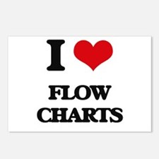 I Love Flow Charts Postcards (Package of 8)