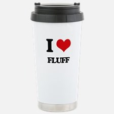 I Love Fluff Stainless Steel Travel Mug