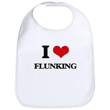 I Love Flunking Bib