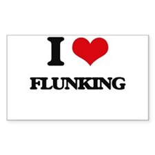 I Love Flunking Decal