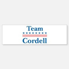 Team Cordell Bumper Bumper Bumper Sticker