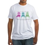 Mies van der Rohe/Chip-Chairs Fitted T-Shirt