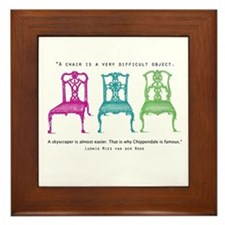 Mies van der Rohe/Chip-Chairs Framed Tile