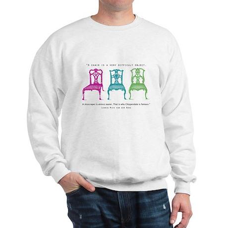 Mies van der Rohe/Chip-Chairs Sweatshirt