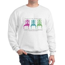 Mies van der Rohe/Chip-Chairs Sweatshirt