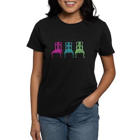 Mies van der Rohe/Chip-Chairs Women's Dark T-Shirt
