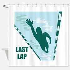 Last Lap Shower Curtain