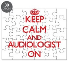 Keep Calm and Audiologist ON Puzzle