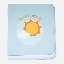 Good Morning baby blanket