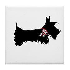 Scottie Dog Tile Coaster