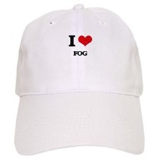 I Love Fog Baseball Cap