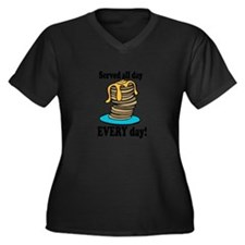 Served All Day Plus Size T-Shirt